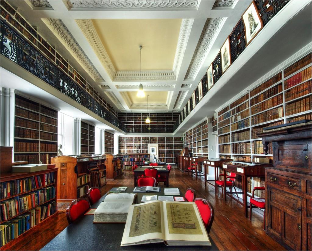 Interior Armagh Robinson Library