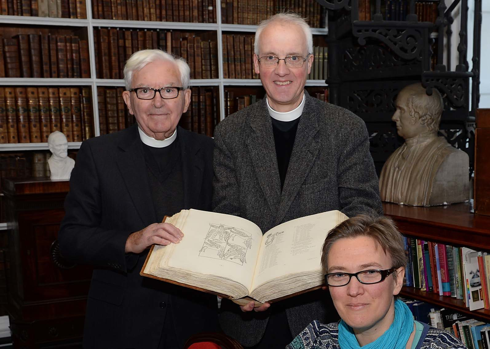 'The Book of Armagh' in Armagh Robinson Library
