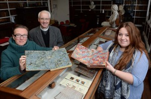 'Marbled Papers' in Armagh Robinson Library