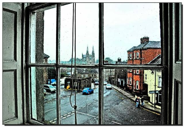 View from the Long Room - Image credit and copyright Robert Graham