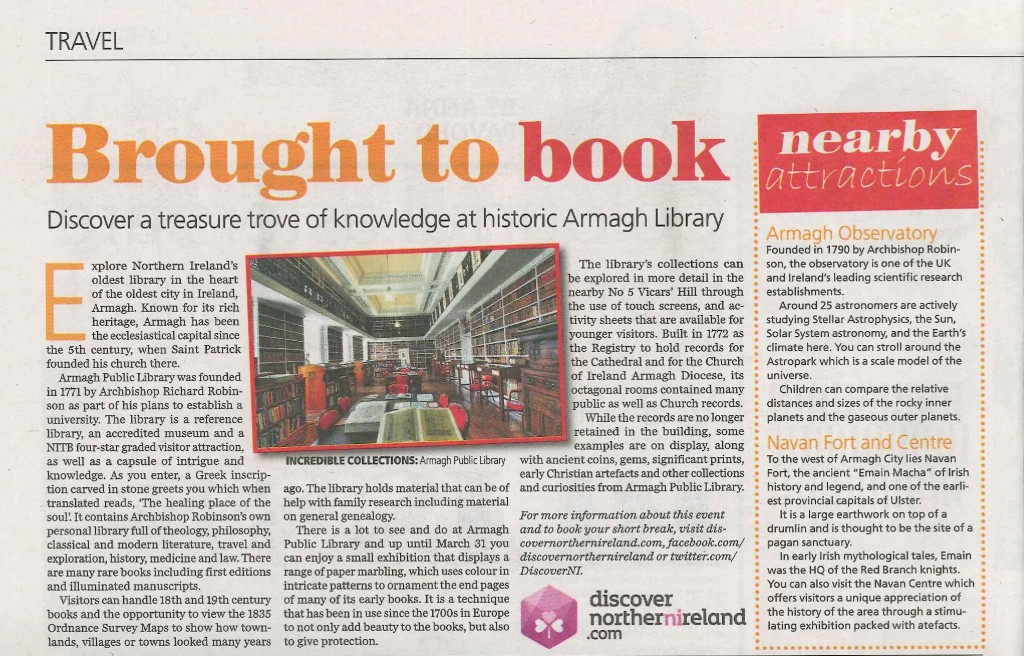Belfast Telegraph article on APL and No 5-page-001