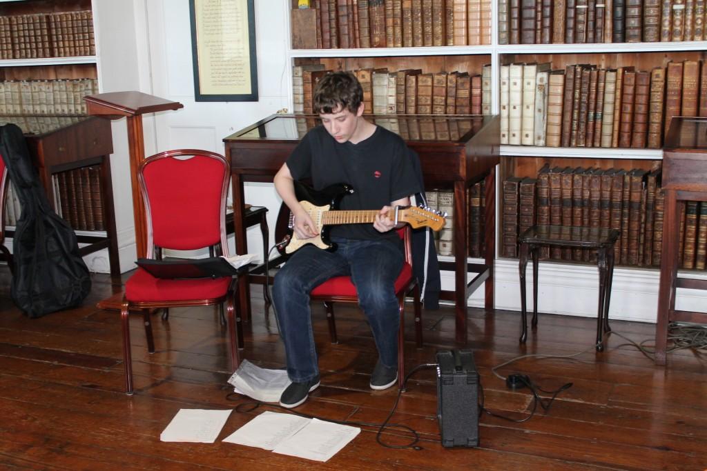Guitarist and singer Adam Foster