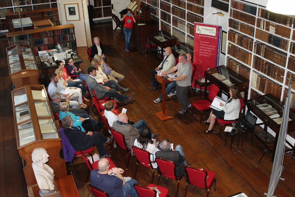 Readings of the work of John O'Connor in association with the John Hewitt Society