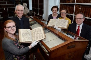 'Church Music in Armagh Public Library'