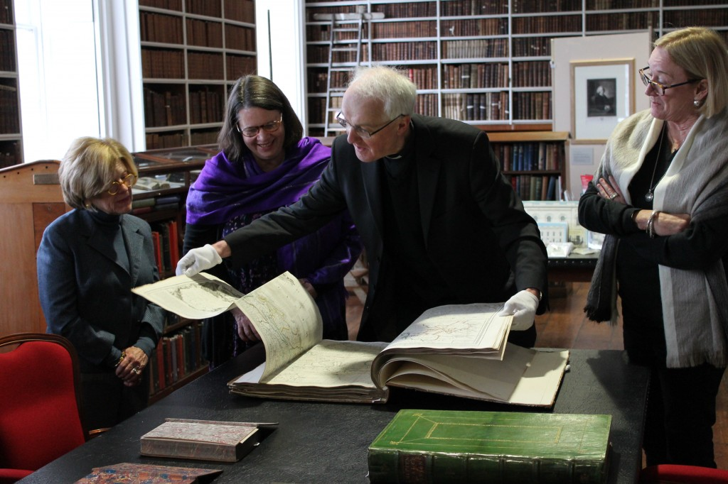 Group visit to Armagh Robinson Library