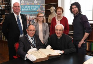 'Food and Drink in Northern Ireland' in Armagh Robinson Library