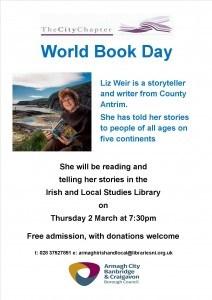 World Book Day Event with Liz Weir