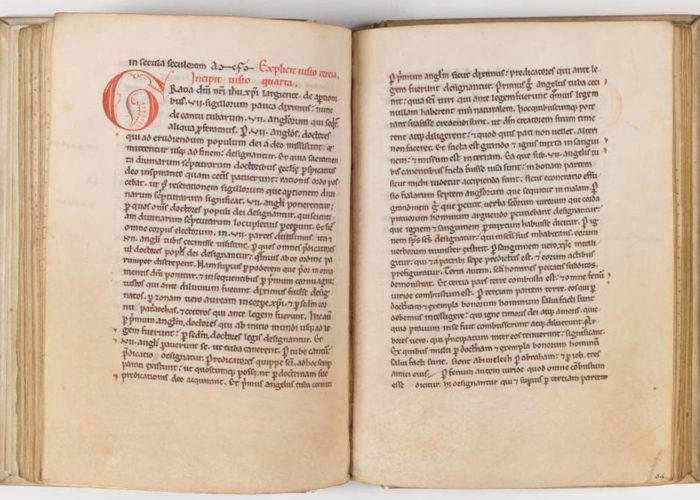 First page of P001941743: Expositio Super Apocalipsim, 1175-1200 in Armagh Robinson Library