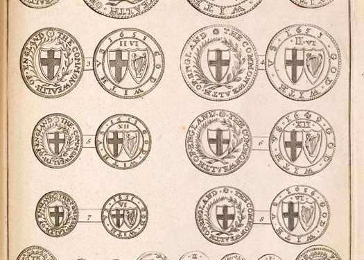 P001216976: Tables Of English Silver And Gold Coins, by Martin Folkes, 1763, in Armagh Robinson Library