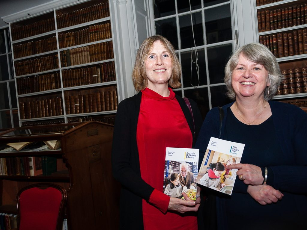 Armagh Robinson Library launch event