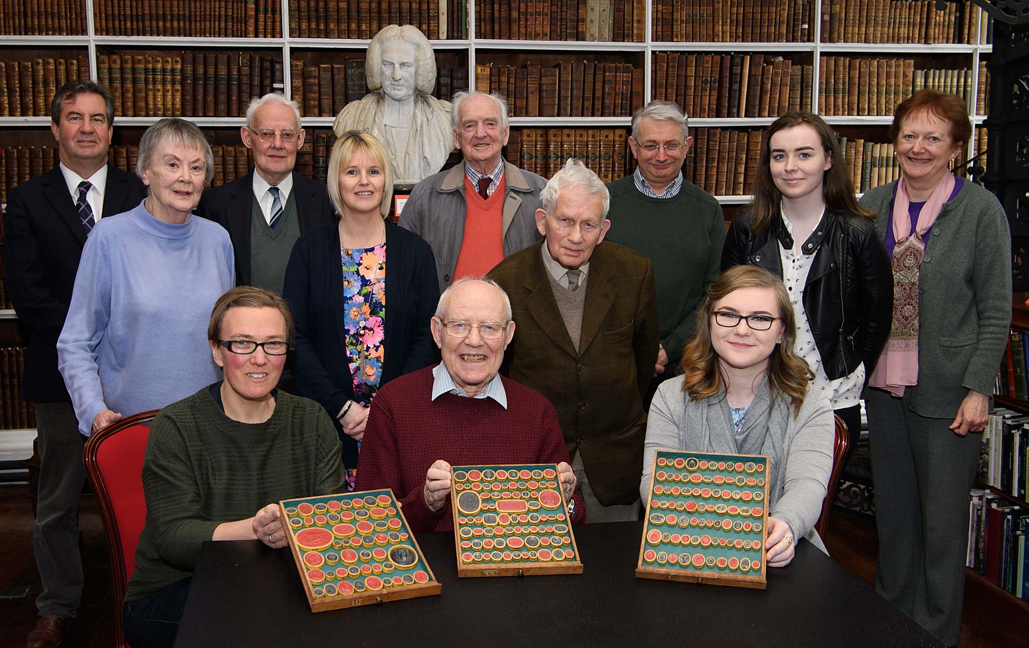 Launch of the exhibition Gems and Gems Literature in Armagh Robinson Library