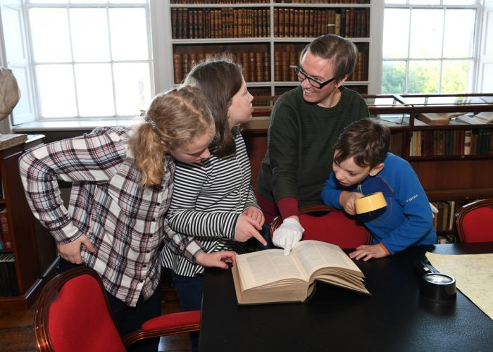 Finding long lost relatives in the collection of Armagh Armagh Robinson Library