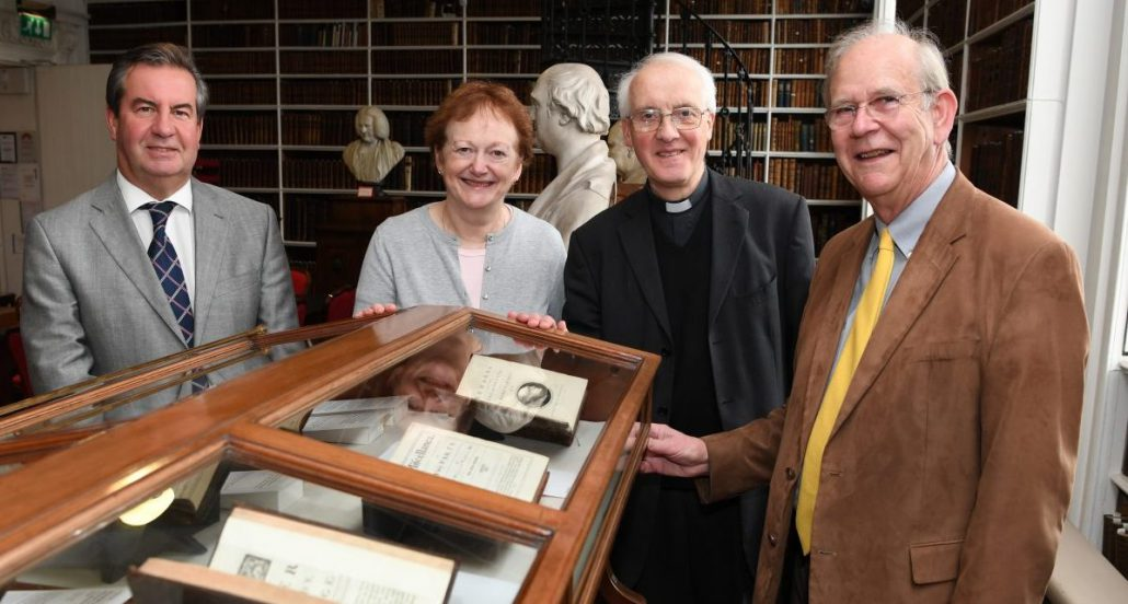 Launch of the Exhibition Swift 350 in Armagh Robinson Library