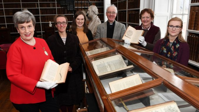 Armagh Robinso Library Medical book exhibition