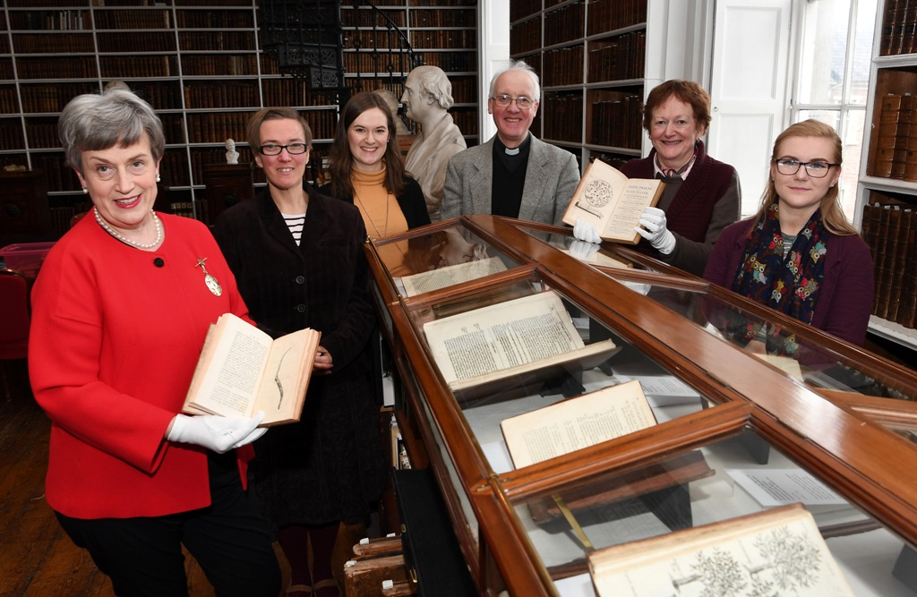 Launch of the exhibition The Healing Place of the Soul : Medical Texts in Armagh Robinson Library