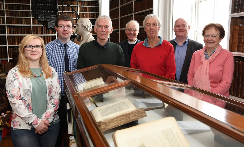 Launch exhibition All the World's a Stage : Theatre in the 18th Century in Armagh Robinson Library