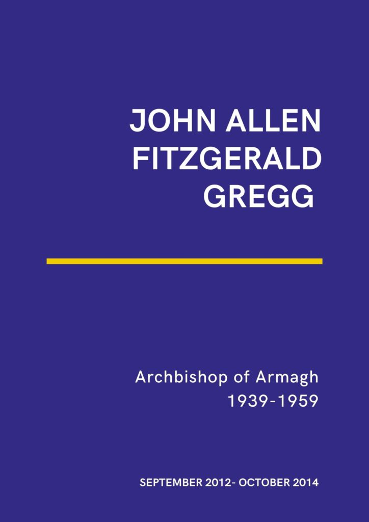 Poster for the Gregg exhibition