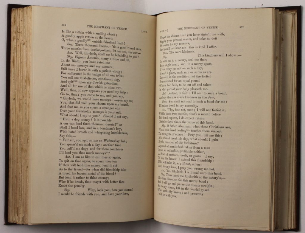 The Works of William Shakespeare, at Armagh Robinson Library