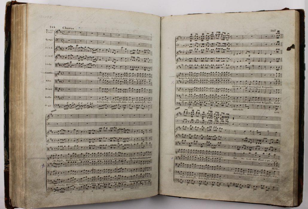 The Hallelujah chorus of the Messiah by Handel