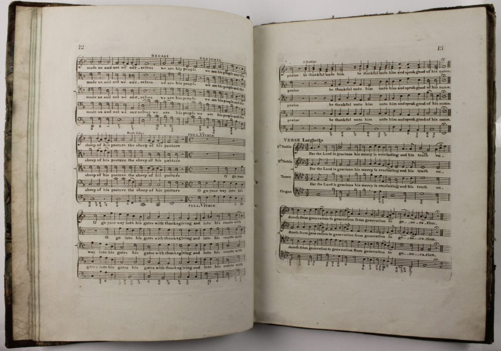 Page 12-13 of Messiah, an Oratoria by Handel