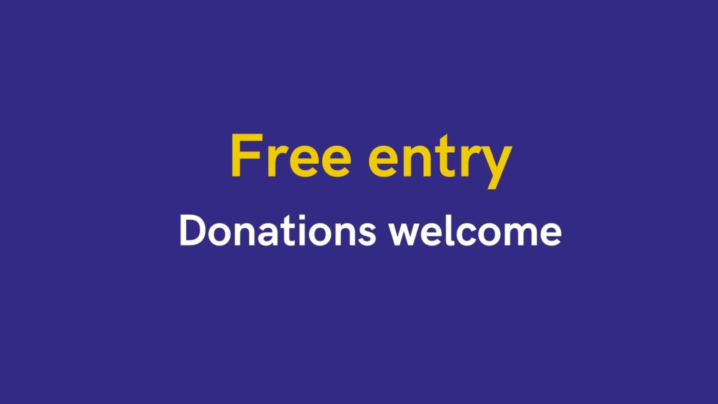 Free entry at Armagh Robinson Library. Donations welcome