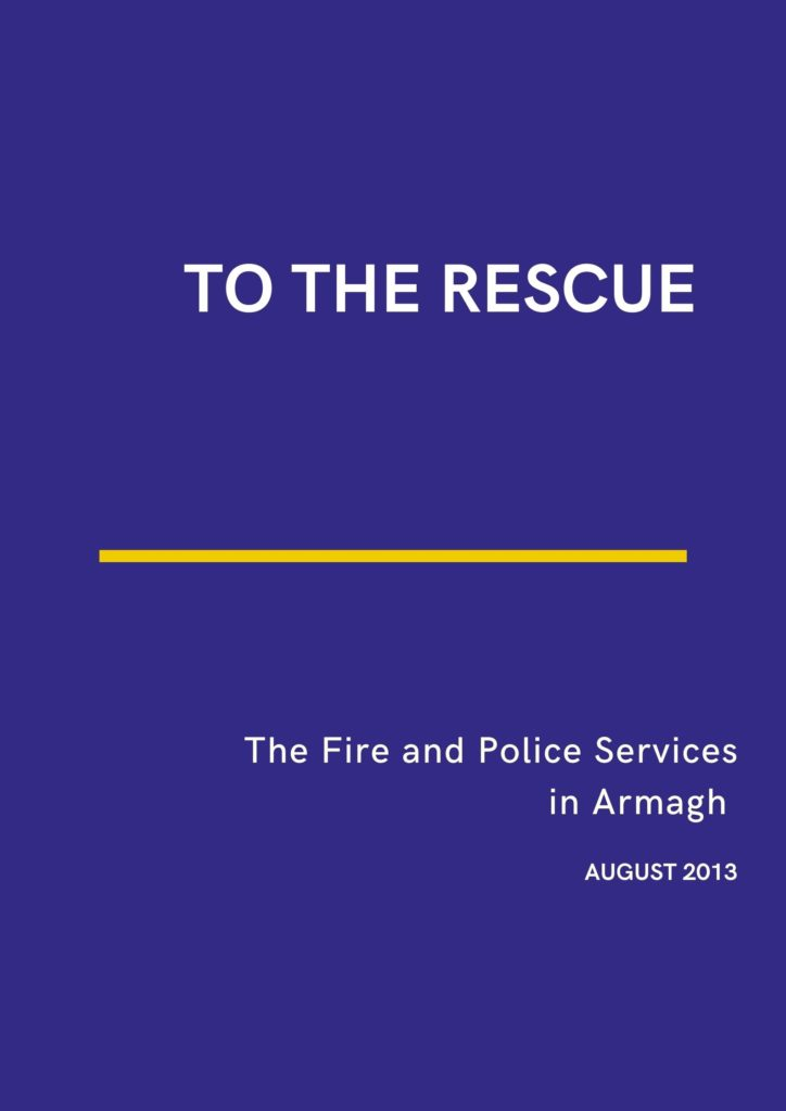 Book exhibition | To the Rescue : Fire & Polices Services in Armagh