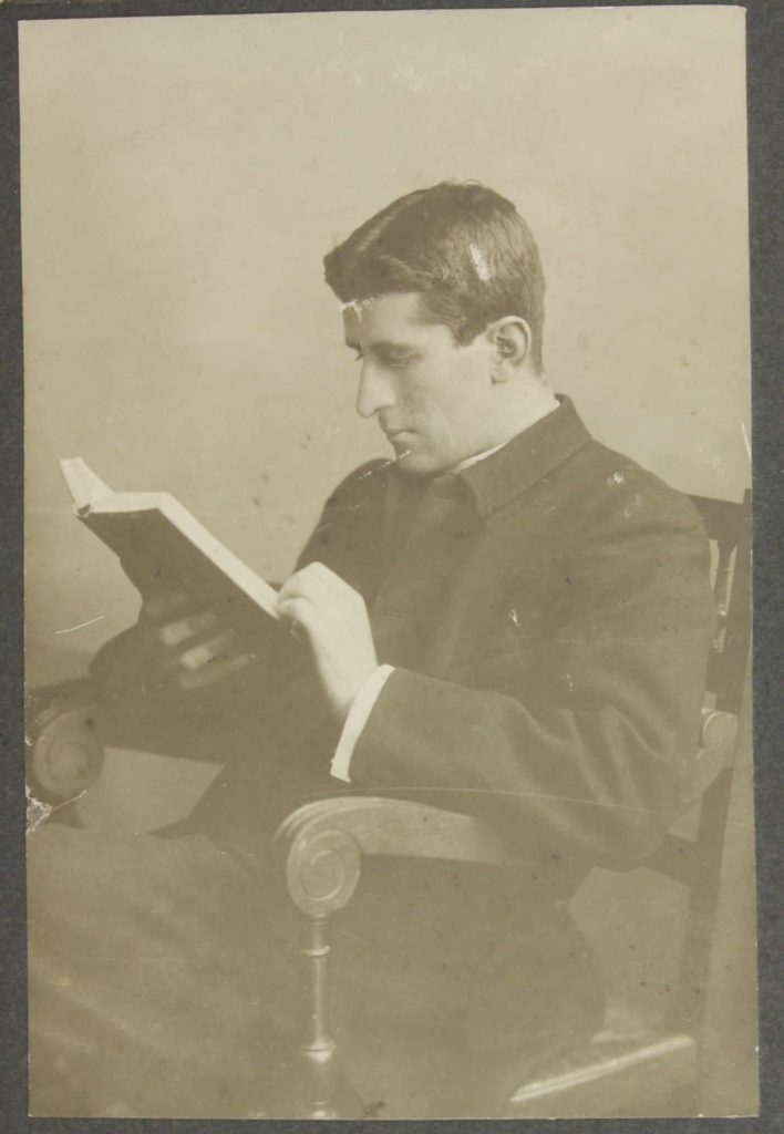 JAF Gregg as a student