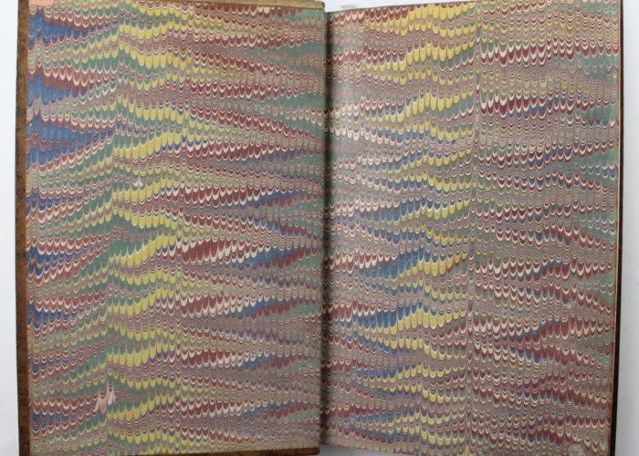 Nonpareil marbled paper P000998415