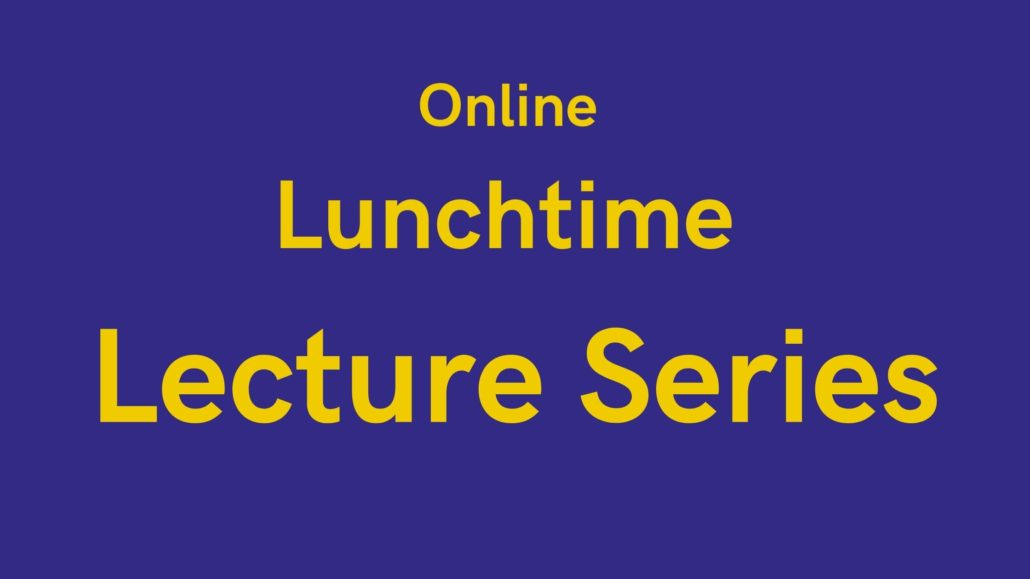 online lunchtime lecture series Armagh Robinson Library