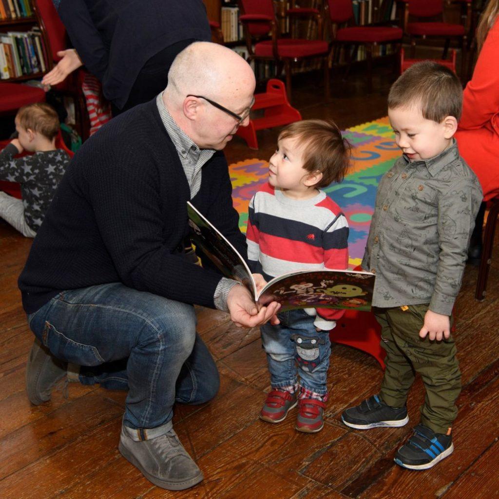 Paul Howard in Armagh Robinson Library