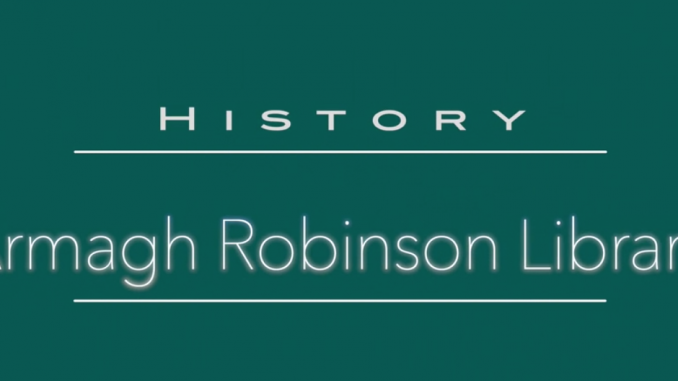 Videos for Lockdown : 250th Anniversary Armagh Robinson Library title screen