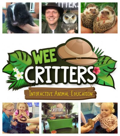 Logo Wee Crittters Interactive Animal Education