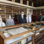 Gold and silver exhibition launch Armagh Robinson Library